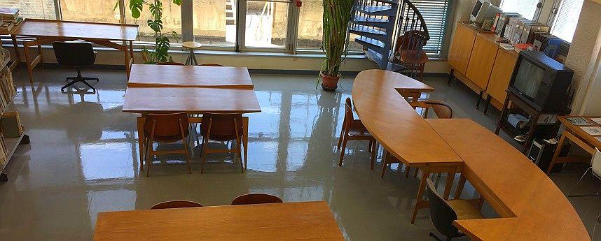 Sala per lo studio di gruppo - Biblioteca tecnico-scientifica